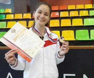 В турнире юниорок победу одержала Ирина Бахтова из Жигулевска!
