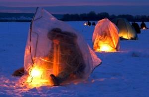 Зимняя рыбалка в Самарской области: в преддверии сезона о безопасности и комфорте