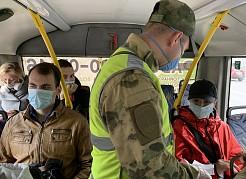 Самарцев без масок начали высаживать из общественного транспорта