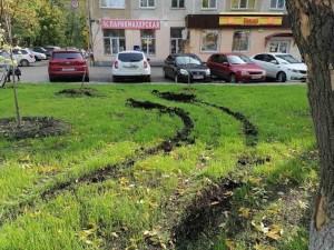 В Самаре вандалы изуродовали два новых сквера