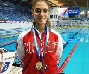 Воспитанница тольяттинской СШОР №10 «Олимп»Ольга Потешкина завоевала 6 наград.