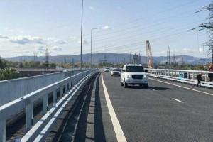 Открыто рабочее движение по правой стороне построенного путепровода на участке км 974 автодороги М-5 «Урал» в Тольятти