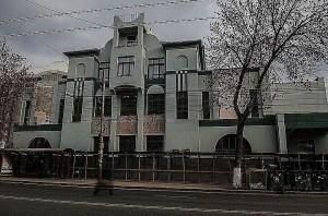 Подрядчик уничтожил барельефы на здании бывшего ресторана Аквариум в Самаре