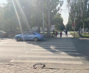 В Самаре водитель сбил мальчика на самокате