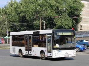 По временной схеме автобусы работали по причине кап. ремонта участка Заводского шоссе.
