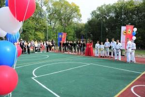 Новую спортивную зону помогли оборудовать сотрудники Сызранского НПЗ.