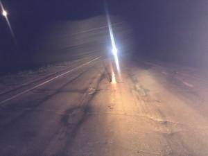 В Самарской области водитель на иномарке Форд сбил пешехода и уехал