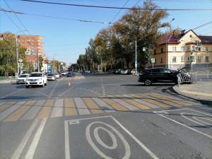 На ул. Луначарского в Самаре в ДТП пострадали двое