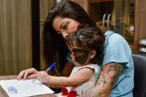 Луне Феннер один год и семь месяцев, большая часть ее жизни, а именно последний год, оказалась неразрывно связана с Краснодаром, где местные онкологи лечат девочку от невуса.
