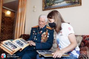 Героями проекта стали 15 ветеранов, проживающих в Самарской области, - участники Великой Отечественной войны, конфликтов в Афганистане, Сирии и Чечне.