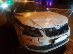 В Самаре из-за автомобилистки столкнулись три машины