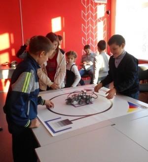 Состязания роботов Сумоистов пройдут на базе центра цифрового и гуманитарного профилей «Точка роста».