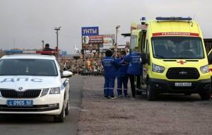 Глава МЧС сообщил, что пострадали 16 человек, повреждено более 20 строений.