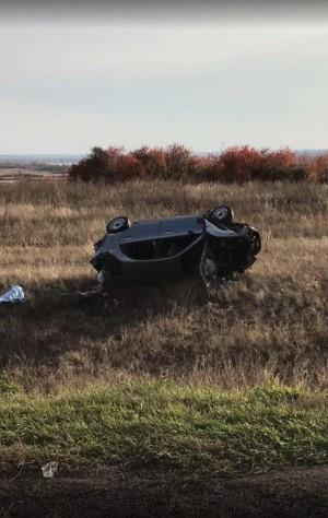 Трое пострадавших: в Сергиевском районе машина перевернулась в кювет, водитель скрылся