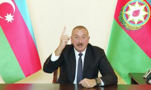 """Президент Азербайджана сообщил, что дает Армении """"последний шанс""""."""