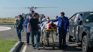 Журналистов направили на лечение в НМИЦ хирургии имени Вишневского.