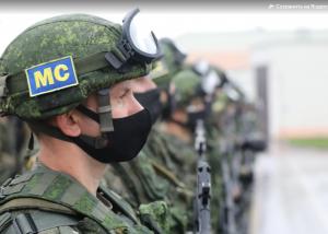 Россию на учениях представляют самарские миротворцы.