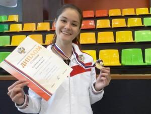 Спортсменка из Жигулевска - победительница первенства России по гиревому спорту
