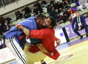В Самаре состоялся чемпионат России по борьбе на поясах
