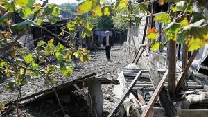 Стороны подтвердили важность соблюдения гуманитарного перемирия, договоренность о котором была достигнута 10 октября в Москве.