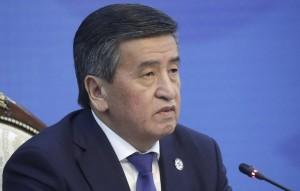 Сооронбай Жээнбеков заявил, что не хочет остаться в истории страны как президент, проливший кровь и стрелявший в собственных граждан.