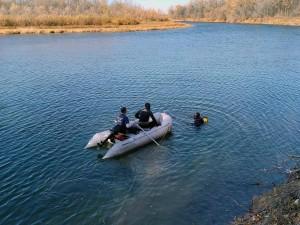 В реке Самара утонул дайвер