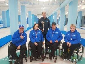 Самарская область - призер Кубка Москвы по керлингу на колясках