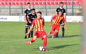 ФК «Акрон» заключил долгосрочный контракт с перспективным полузащитником – сроком на четыре года.