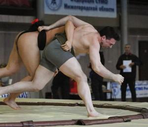 Самарец отличился на соревнованиях по сумо
