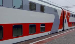 """Оформление билетов по выгодным ценам доступно в рамках акций """"Двухэтажные поезда по привлекательной цене"""" и """"В новый год на двухэтажном поезде""""."""