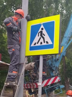 В Самаре завершаются работы, направленные не просто на улучшение условий на ряде дорожных объектов, а еще и конкретно на «ликвидацию» аварийно-опасных участков.