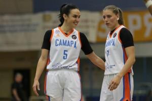Женская «Самара» проведет первые домашние матчи сезона без зрителей