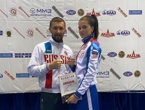 Наша Владлена Безлапова завоевала золото в весовой категории 60 кг.