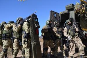 В Самарской области состоялись тактико-специальные занятия специальных подразделений силовых структур