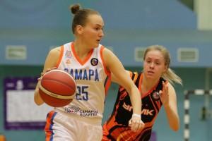 Женская баскетбольная «Самара» с победы начала домашнюю серию
