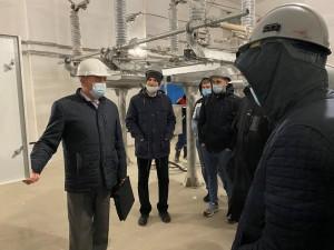 Студенты СамГТУ посетили подстанцию 110 кВ Безымянка-3