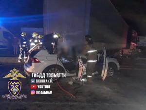 В Тольятти столкнулись четыре машины, есть погибший