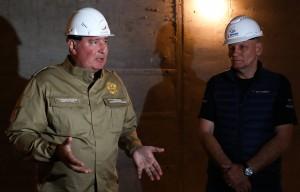 Евгений Рогоза возглавлял дирекцию по строительству космодрома Восточный с апреля 2019 года.