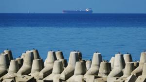 Два взрыва произошли на российском нефтяном танкере вАзовском морепосле пожара, удалось спасти шесть членов экипажа.