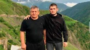 Хабиб Нурмагомедов написал трогательное послание отцу после финального боя в карьере