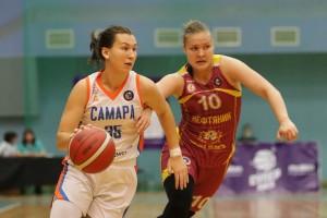 Женская команда баскетбольной «Самары» добилась еще одной крупной победы