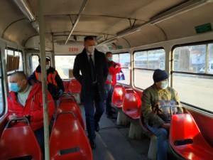 В октябре составлено 37 протоколов на нарушителей масочного режима в общественном транспорте Самары