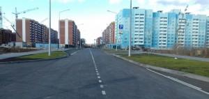 В Красноглинском районе Самары завершилось строительство новой дороги