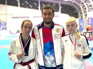 Спортсменки СО завоевали две медали.