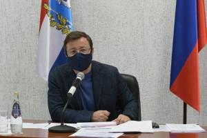 Дмитрий Азаров провел внеочередное заседание регионального оперативного штаба СО.