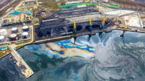 """В отношении предприятия """"Примтеплоэнерго"""", предположительно, причастного к разливу нефтепродуктов, проводится проверка."""