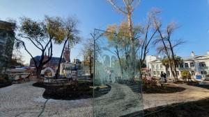 Страницы сказки «Аленький цветочек», восстановленный фонтан и амфитеатр – это и не только появится в сквере Аксаковых после комплексного благоустройства.