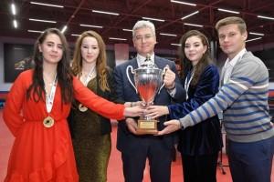 Виктор Кудряшов поздравил команду Самарочка с яркой победой
