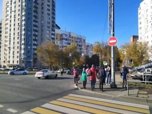 В Самаре остановки общественного транспорта около ТЦ Апельсин перенесли