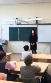 В Самарской области полицейские в рамках Всероссийской акции «С ненавистью и ксенофобией нам не по пути» провели встречу со школьниками